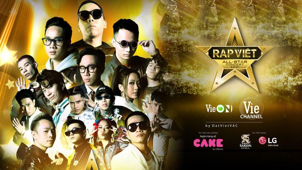 Rap Việt All-Star Live Concert 2021 ấn định 'bùng nổ' vào 10/04/2021