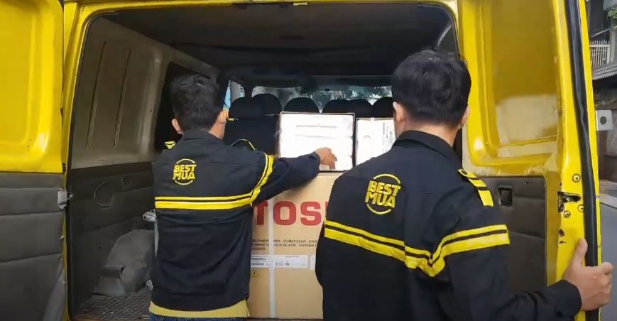 Hành trình giao lắp 4 máy lạnh cho anh Sang Hiệp Thành Q12