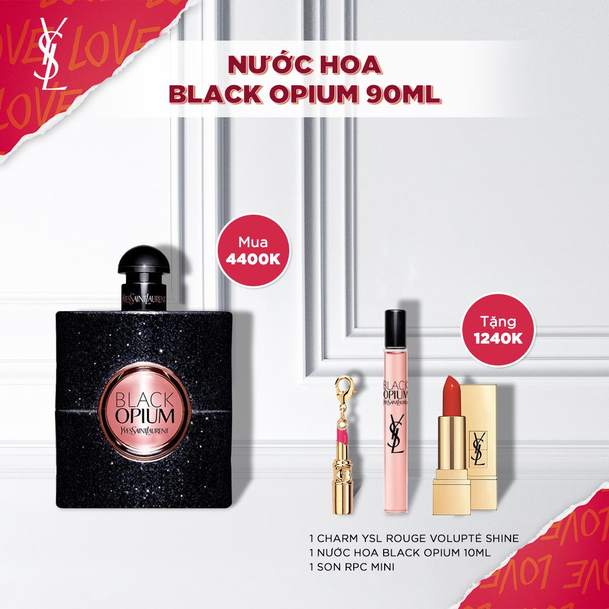 Bộ Nước hoa Black Opium EDP 90ml