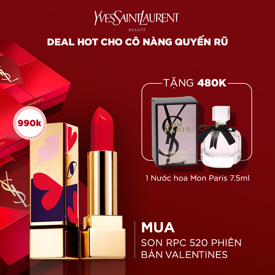 Son môi Rouge Pur Couture Love Collector's Edition