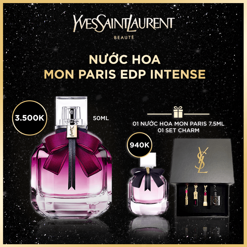 [HANNAH DEAL] - NƯỚC HOA MON PARIS EDP INTENSE 50ML