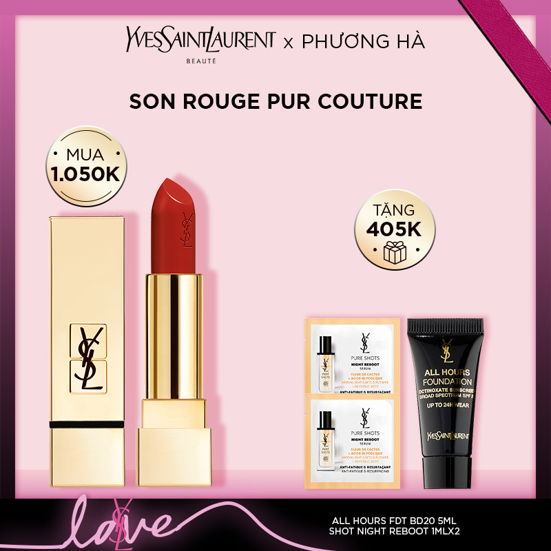 [PH] Set Son môi Rouge Pur Couture