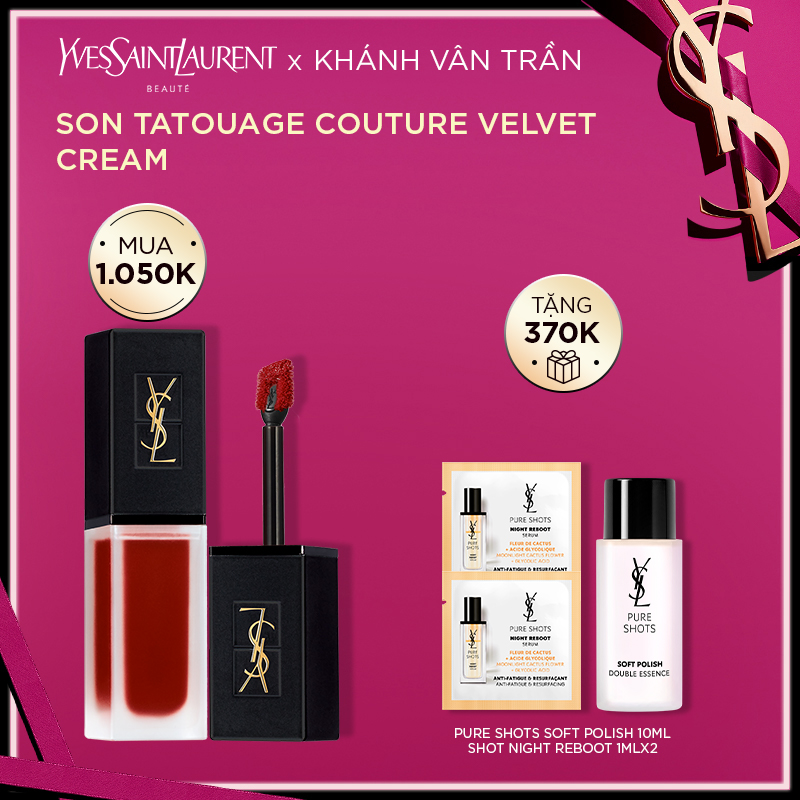 [KVT] Son Kem Tatouage Couture Velvet Cream