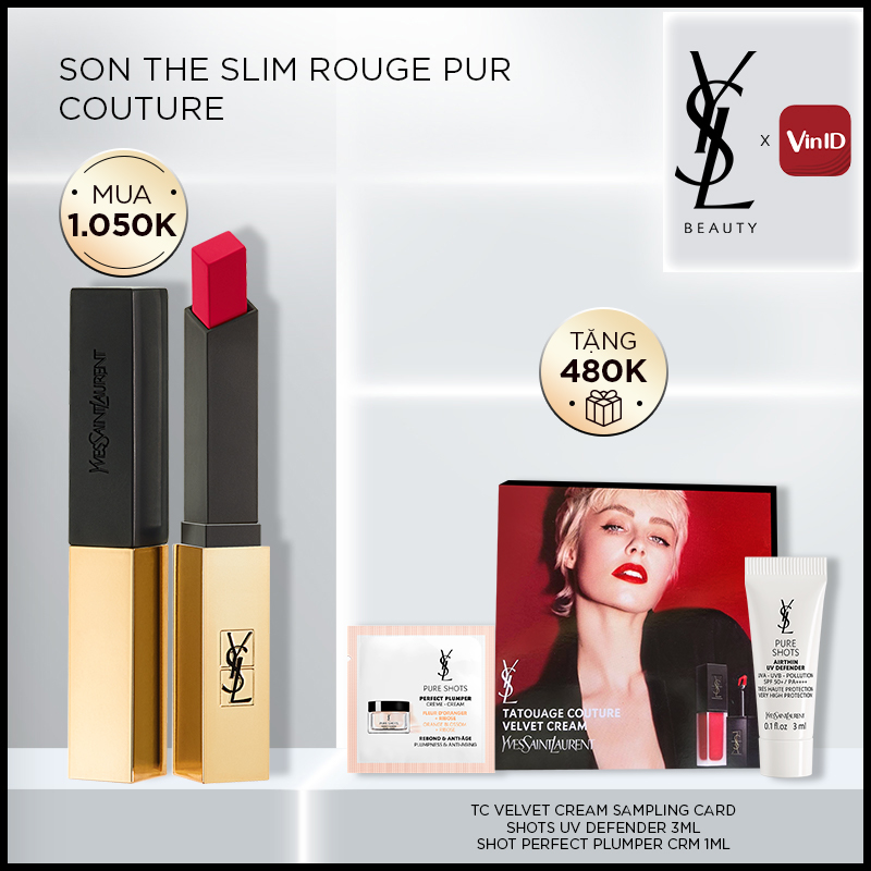 [OMG] Son Môi Che Phủ Cao Rouge Pur Couture The Slim