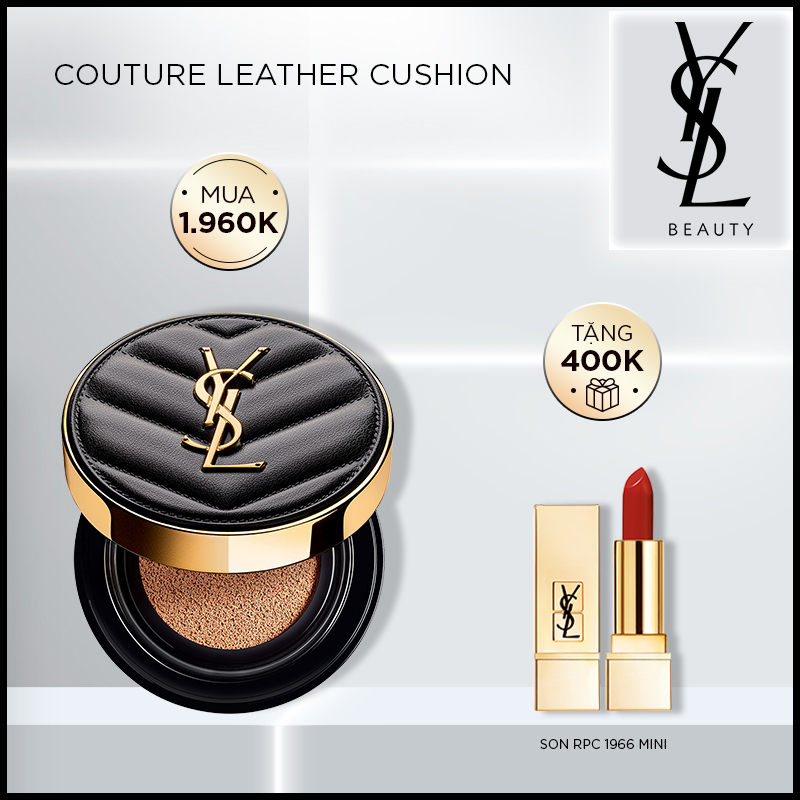 [9-9] Couture Leather Cushion