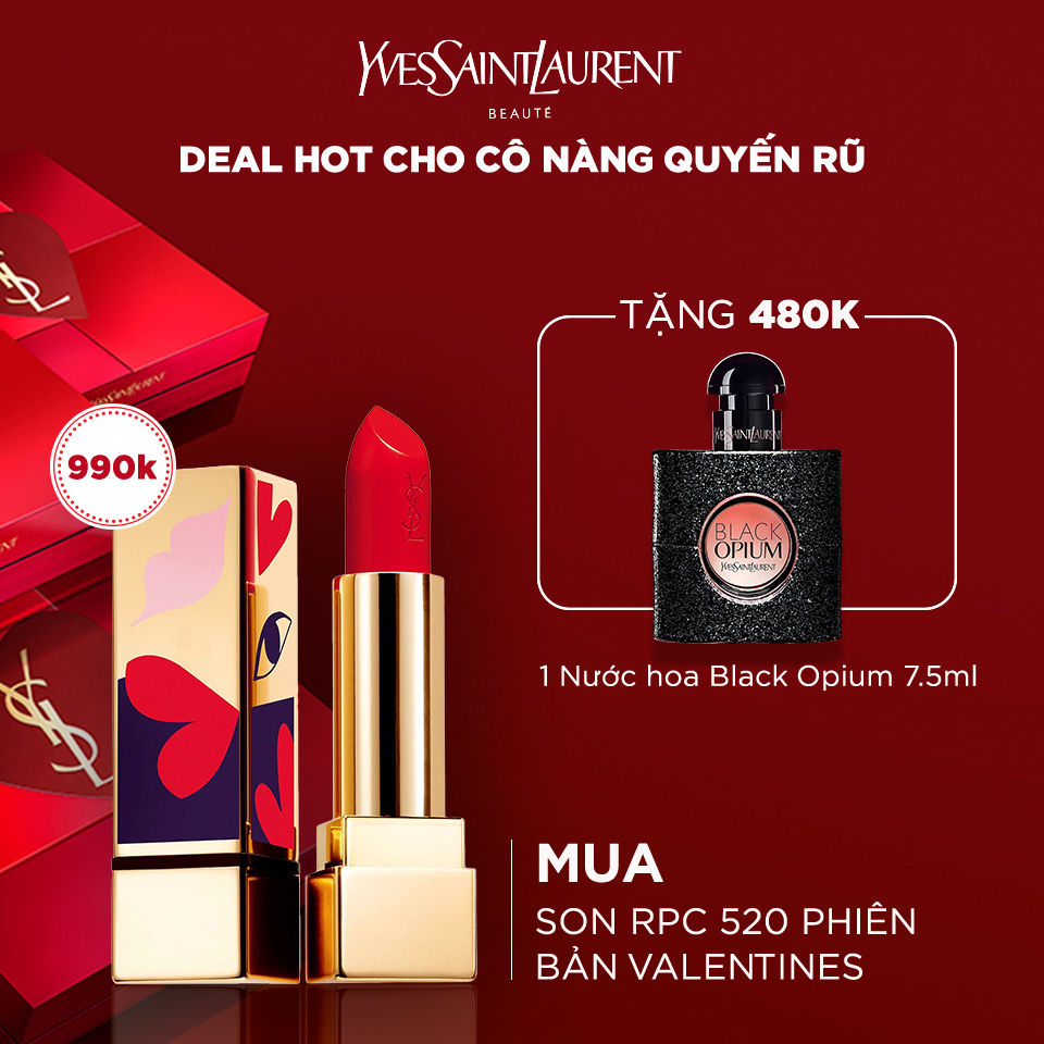Son môi Rouge Pur Couture Love Collector's Edition new