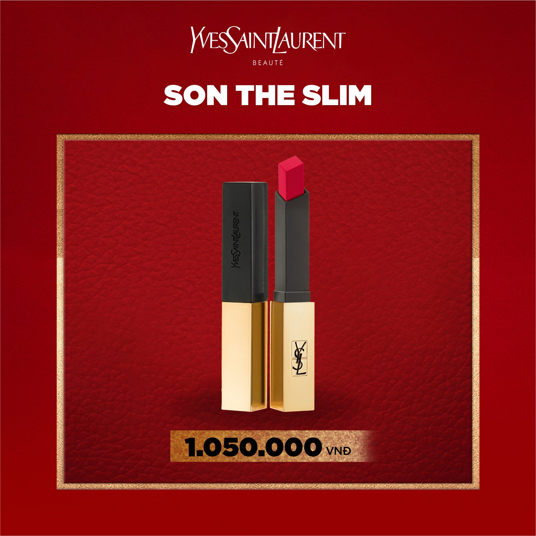 son dạng lì Rouge Pur Couture The Slim