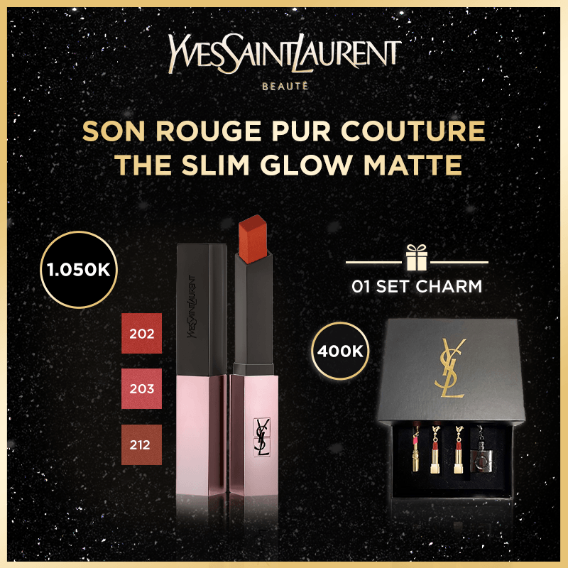 [HANNAH DEAL] - SON ROUGE PUR COUTURE THE SLIM GLOW MATTE