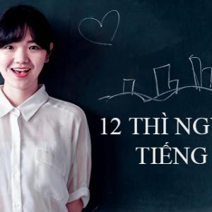 Nhớ 12 thì ngữ pháp tiếng Anh siêu tốc bằng sơ đồ tư duy