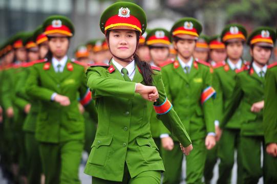 Cập nhật các trường đại học quân đội tuyển nữ năm 2018