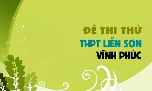 Đề thi thử THPT Quốc gia 2019 môn Địa trường THPT Liễn Sơn - Vĩnh Phúc