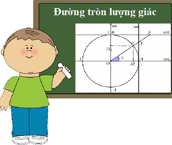 Đường tròn lượng giác lớp 11-Những kiến thức cơ bản không thể không nhớ
