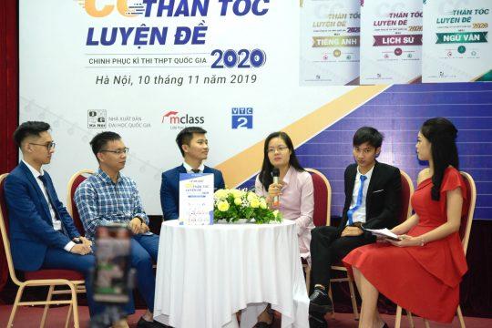 Toàn cảnh Lễ ra mắt CC Thần tốc luyện đề 2020 tại Cung Trí thức Hà Nội