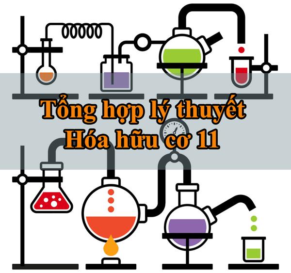 [INFOGRAPHIC] Tổng hợp lý thuyết hóa hữu cơ 11 thi THPT QG từ A-Z