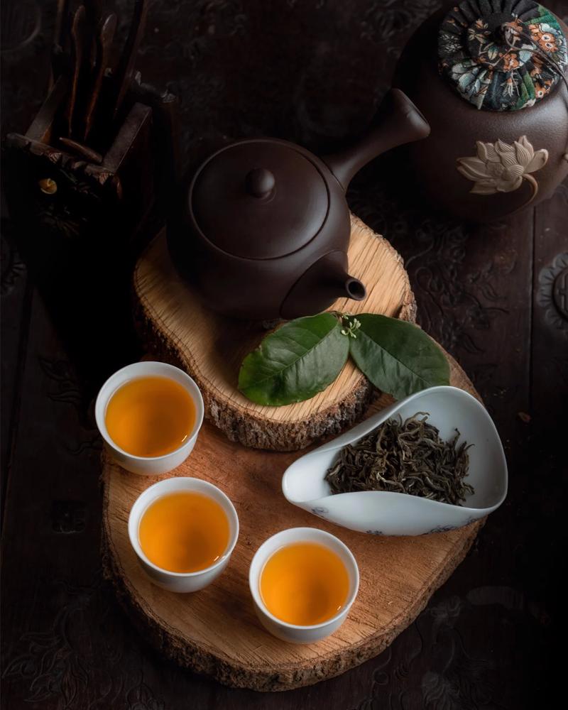 The History of Green Tea