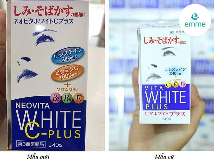 Viên uống trắng da Neovita Vita White-C Plus 240 viên Nhật Bản