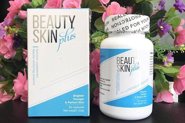 Viên uống trắng da Beauty Skin Plus của Mỹ