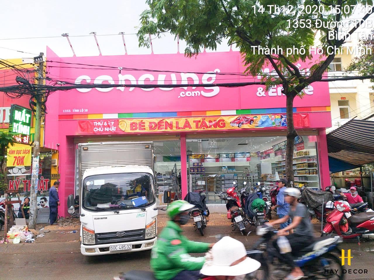 Con Cưng 1355 Tỉnh Lộ 10 số 1355 Tỉnh Lộ 10, Phường Tân Tạo A, Quận Bình Tân, TP. Hồ Chí Minh02873006609