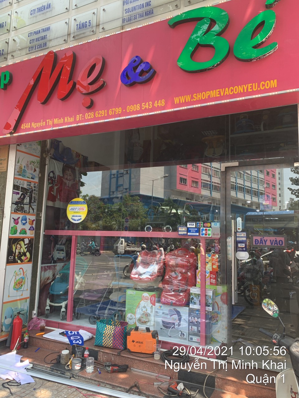 Mẹ & Bé Nguyễn Thị Minh Khai454A Nguyễn Thị Minh Khai, Phường 5, Quận 3, Thành phố Hồ Chí Minh 02862744366
