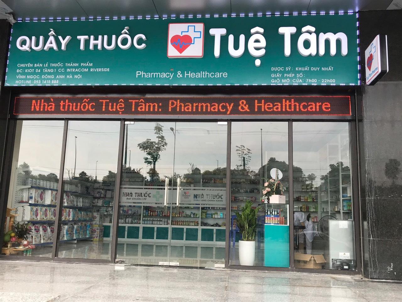 Quầy thuốc Tuệ Tâm 44 ngõ 79 Thái Thịnh, Phường Thịnh Quang, Quận Đống Đa