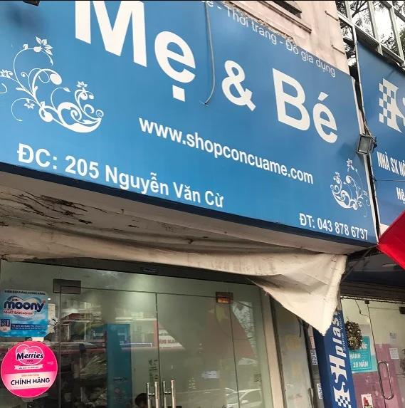 Shop con của mẹ Số 205 Nguyễn Văn Cừ, Phường Ngọc Lâm, Quận Long Biên, Hà Nội
