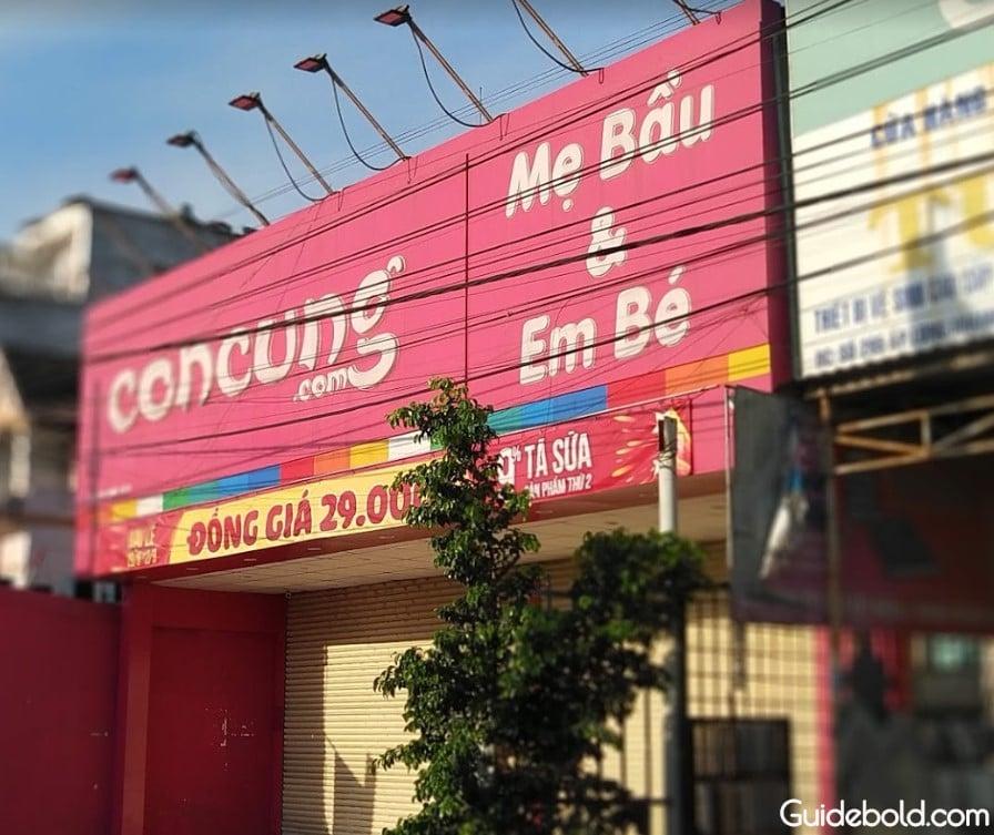 Con Cưng 845 Bùi Văn Hòa - Đồng Nai 845 đường Bùi Văn Hòa khu phố 7, phường Long Bình, TP. Biên Hòa, Đồng Nai