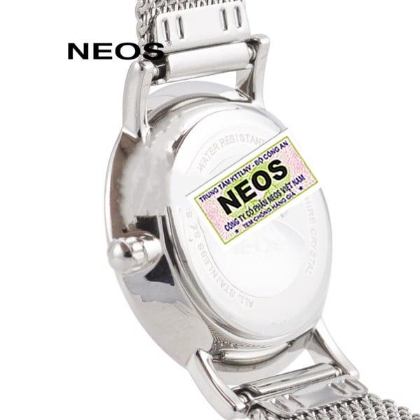 đồng hồ nữ dây lưới neos n-40577l