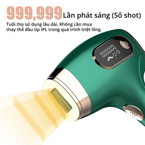 Máy triệt lông IPL laser kết hợp làm lạnh chuyên sâu - Lux Hair Pro